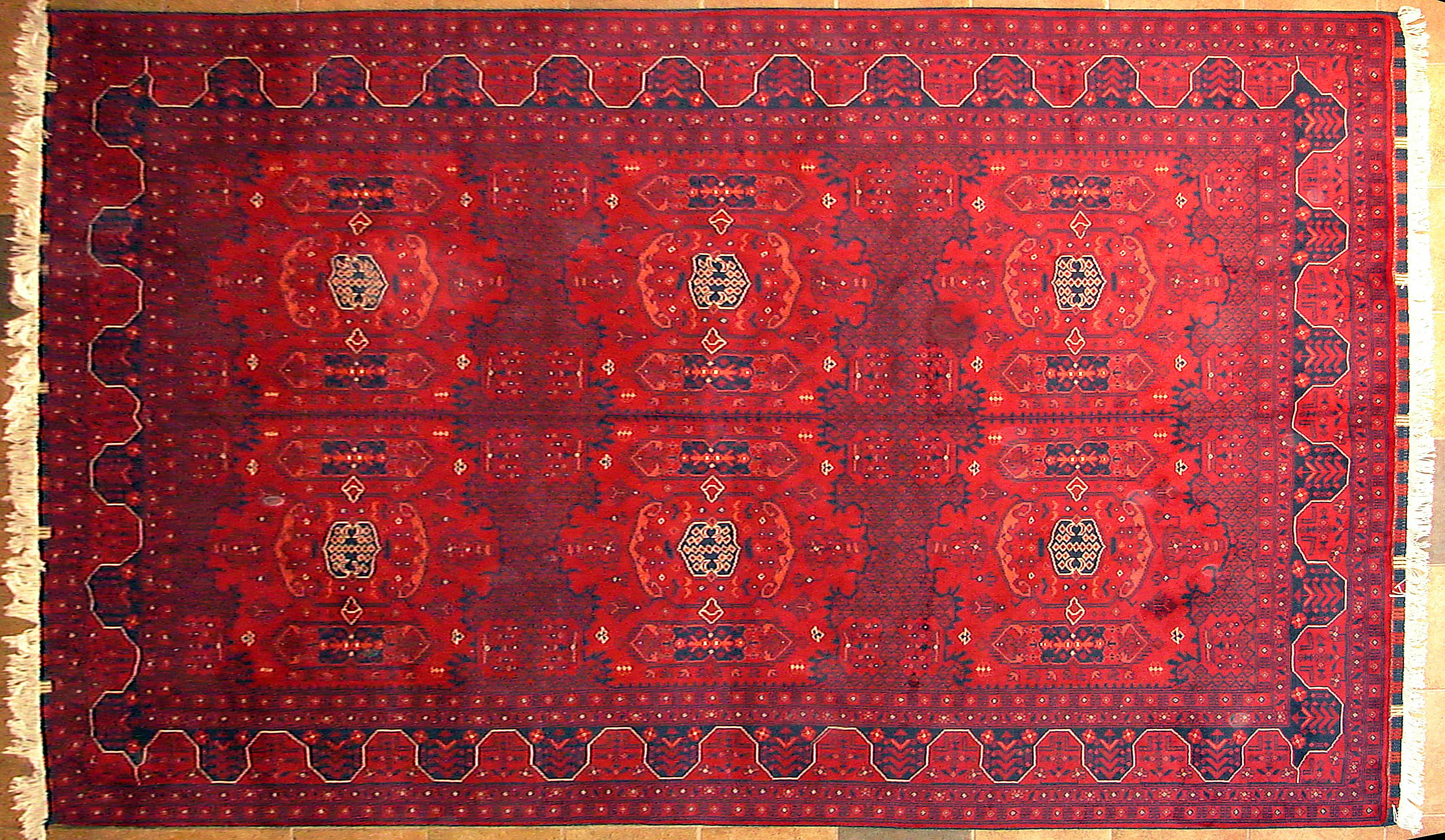#A154 Afghan Design